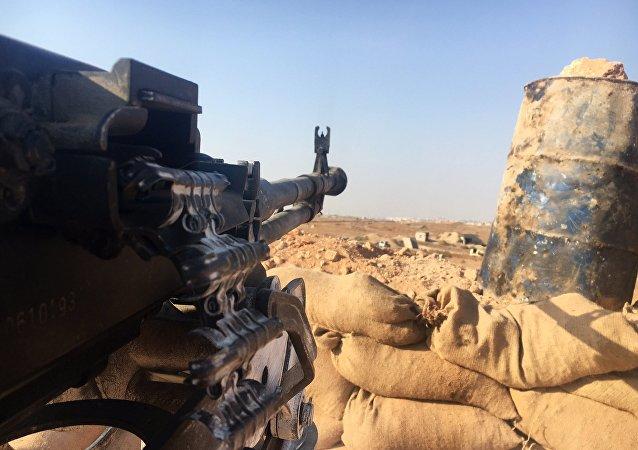 Posición del Ejército sirio en el sur de Alepo (archivo)