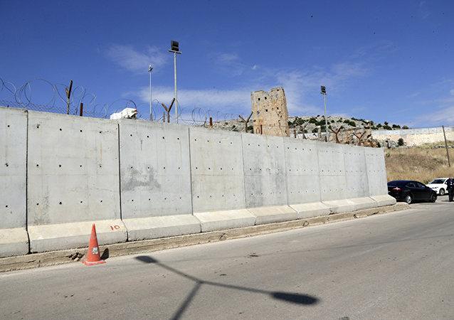 Puesto fronterizo entre Turquía y Siria