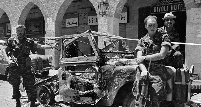 Militares israelíes durante la guerra de los Seis Días