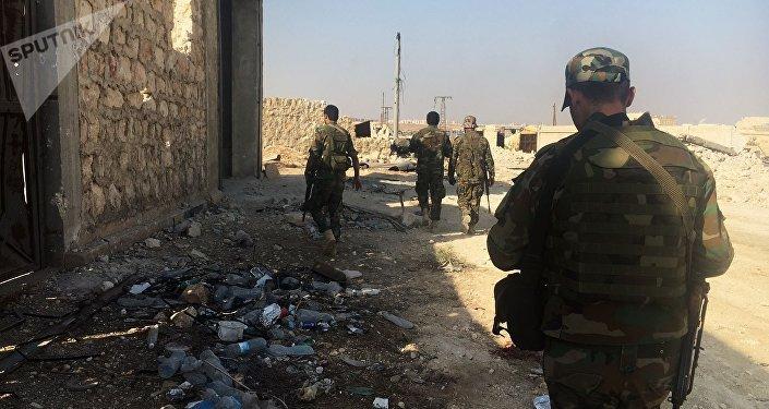 Militares del Ejército Árabe Sirio (archivo)