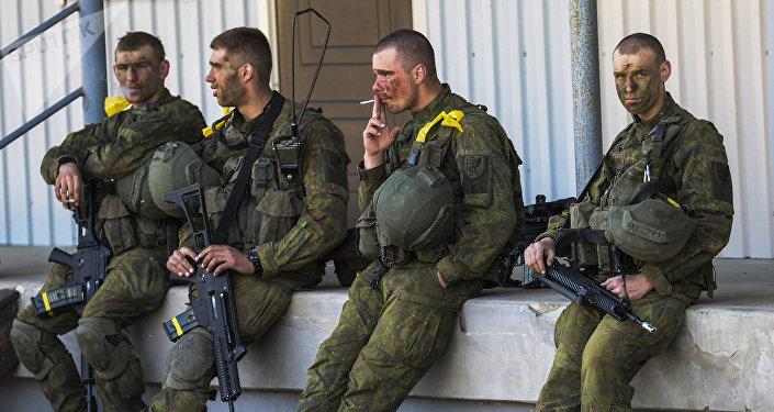 Militares de la OTAN (archivo)