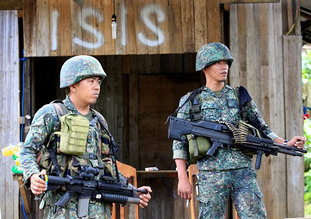 Situación en la ciudad filipina de Marawi