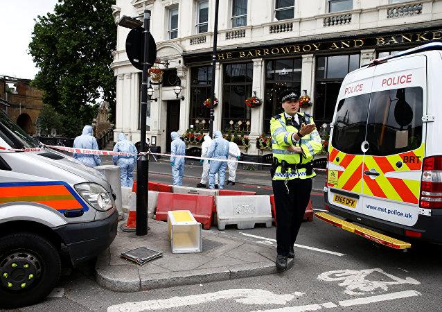 Los trabajos de investigación tras el atentado