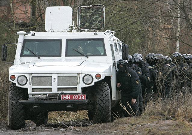 Белорусско-российские учения подразделений особого и специального назначения