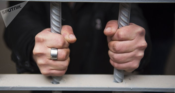 Detenido en una cárcel