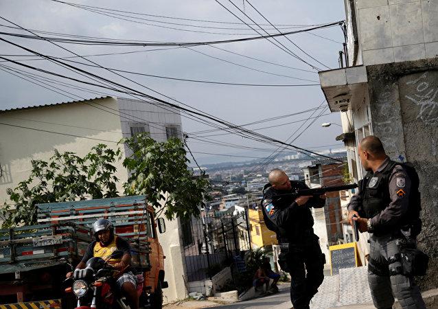 Policía brasileña (imagen referencial)
