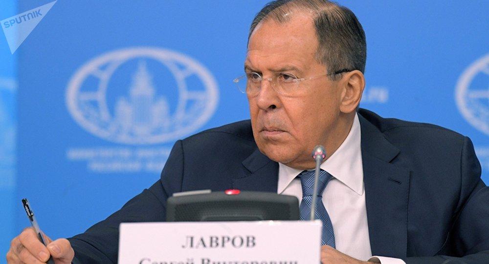 Serguéi Lavrov,el ministro de Exteriores ruso