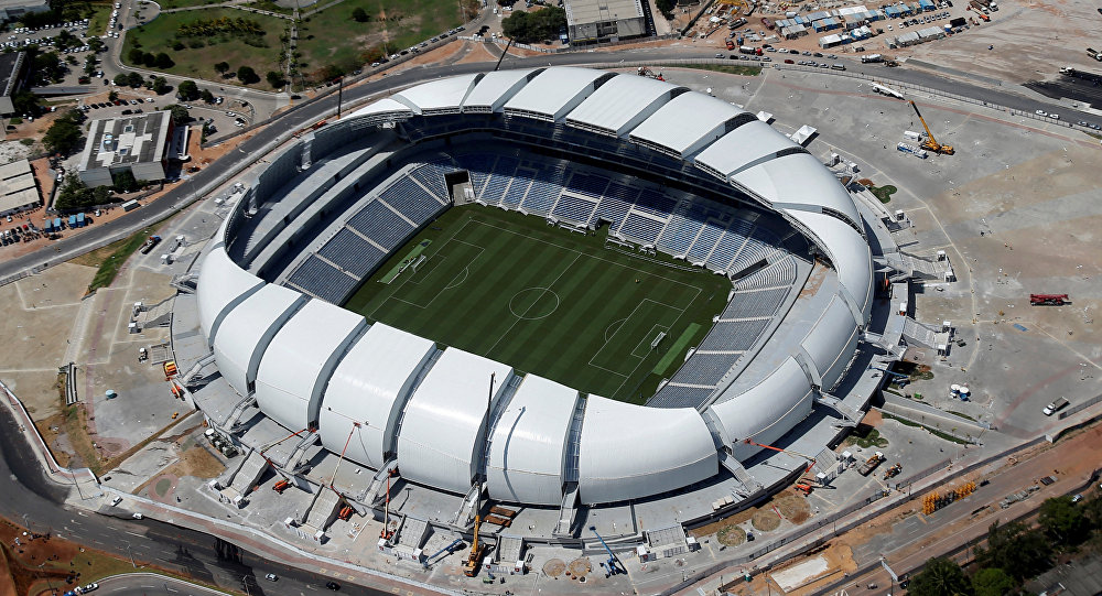 Estadio Arena das Dunas en Brasil