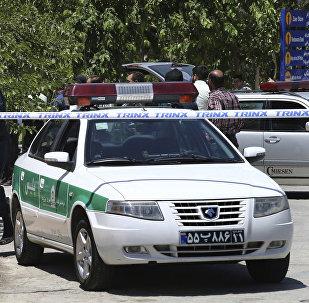 Policía de Irán