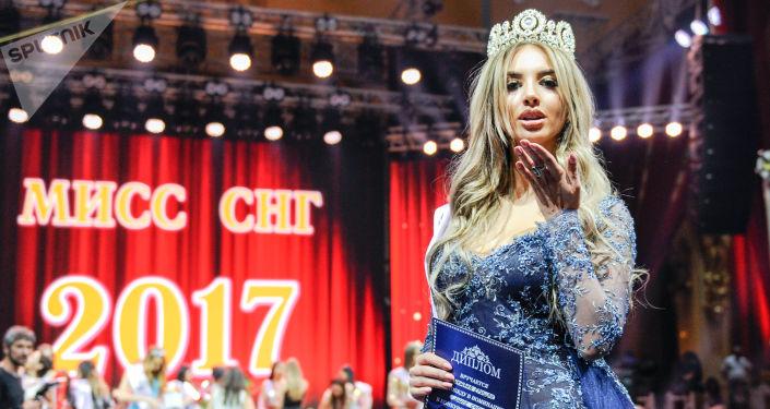 La mujer más linda de los países postsoviéticos