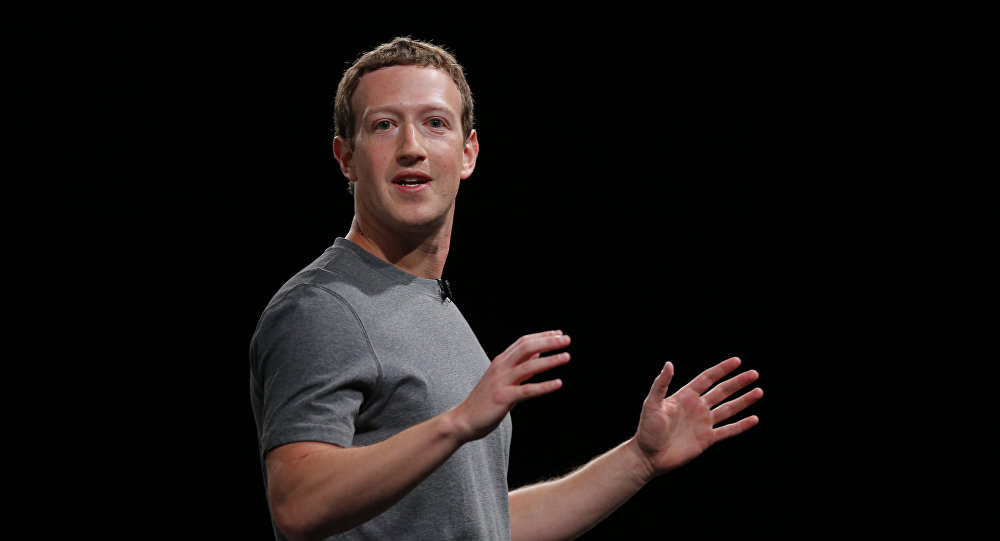 Mark Zuckerberg, fundador de Facebook (archivo)