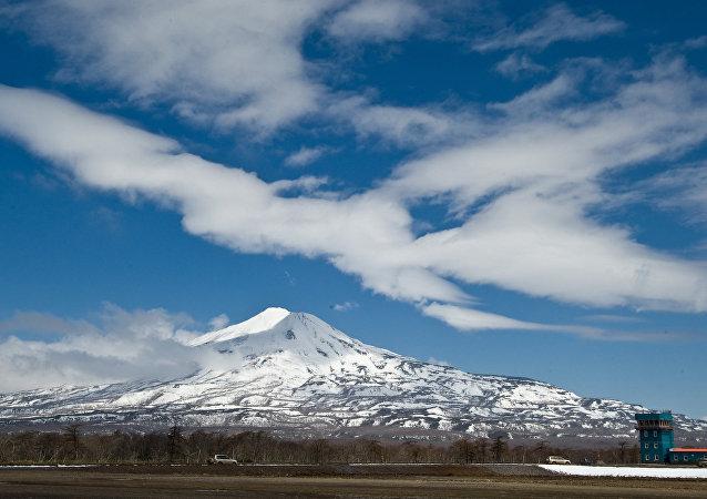 Iturup, la isla más grande del archipiélago de las Kuriles