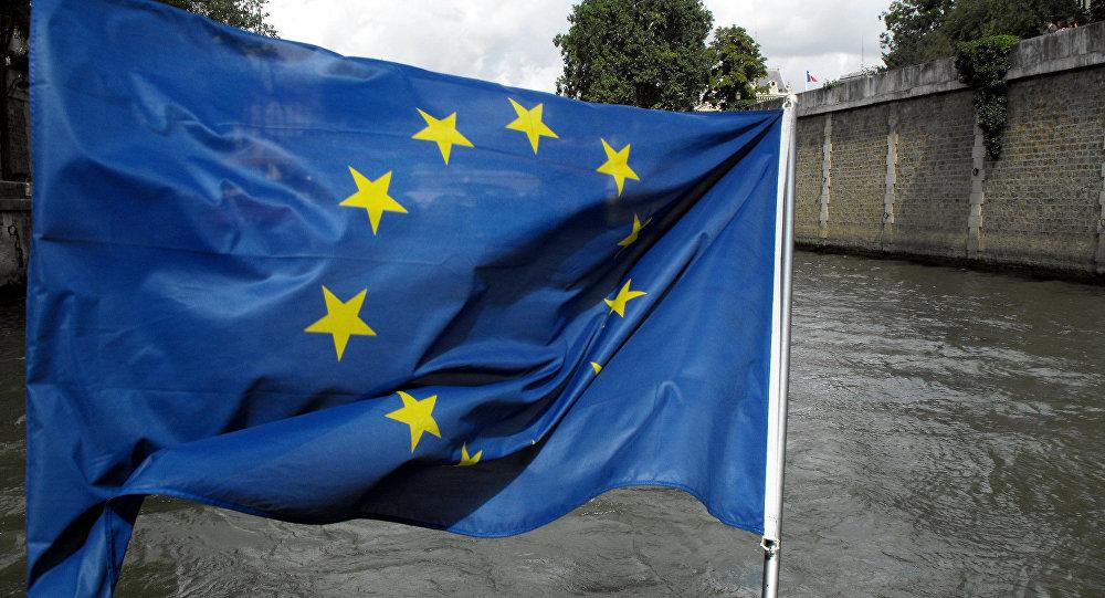 Bandera de la Unión Europea (archivo)