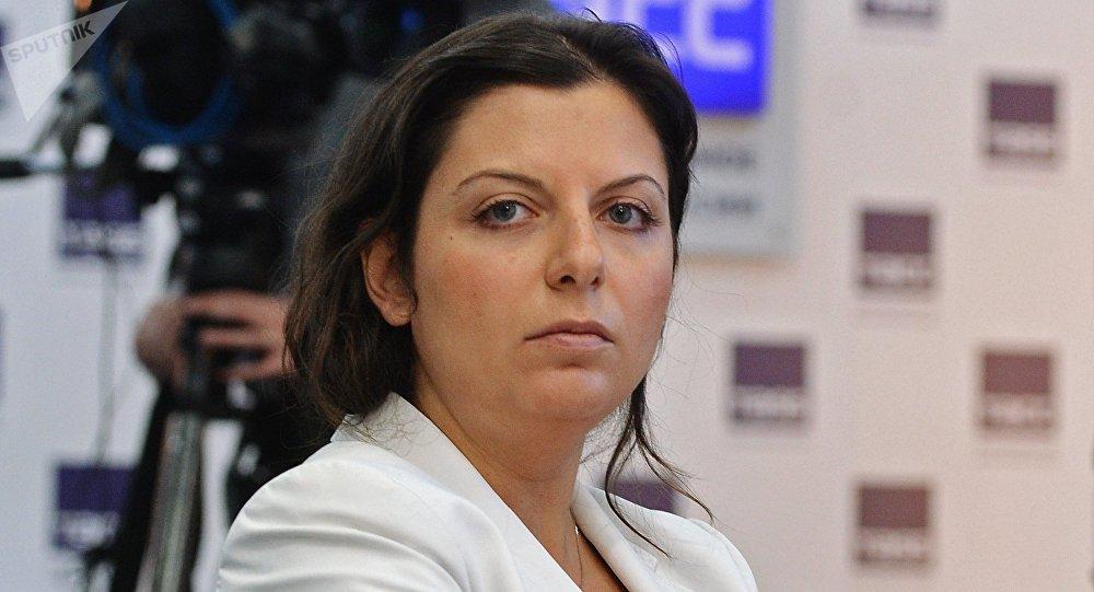 Margarita Simonián, directora de Sputnik