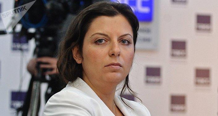 Margarita Simonián, directora de RT y Sputnik (archivo)