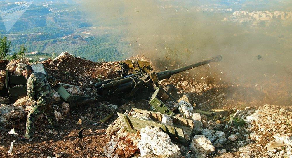 Fuerzas gubernamentales de Siria (Archivo)