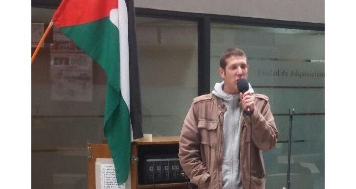 Alan Rückert, judío chileno contrario a los asentamientos en territorio palestino