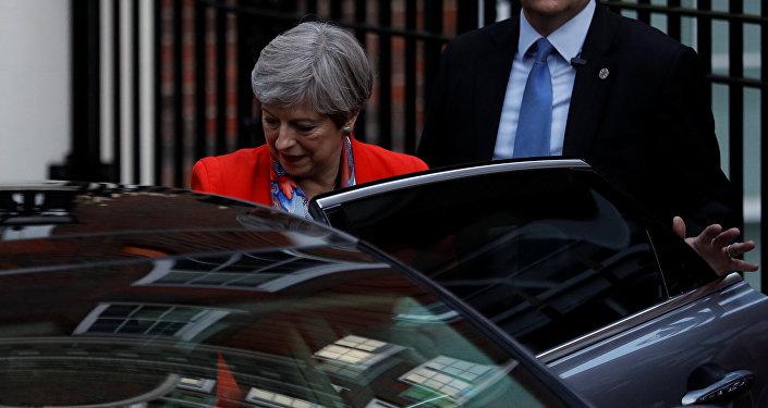 Theresa May, la primera ministra del Reino Unido