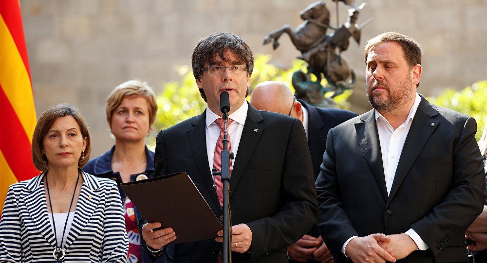 Carles Puigdemont, presidente de Cataluña