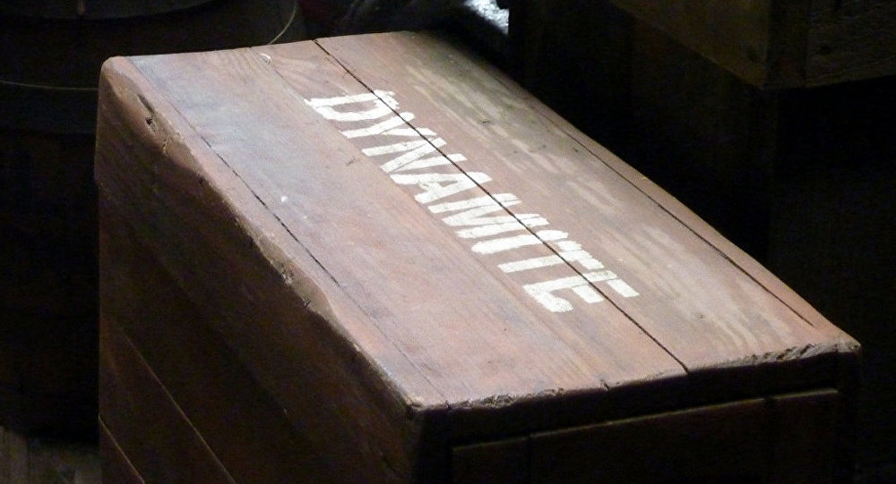 Dinamita (imagen referencial)