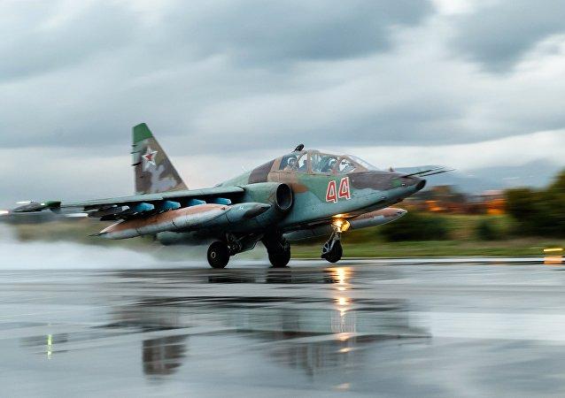 Su-25 ruso (imagen referencial)