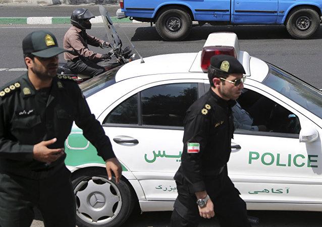Policía iraní (archivo)