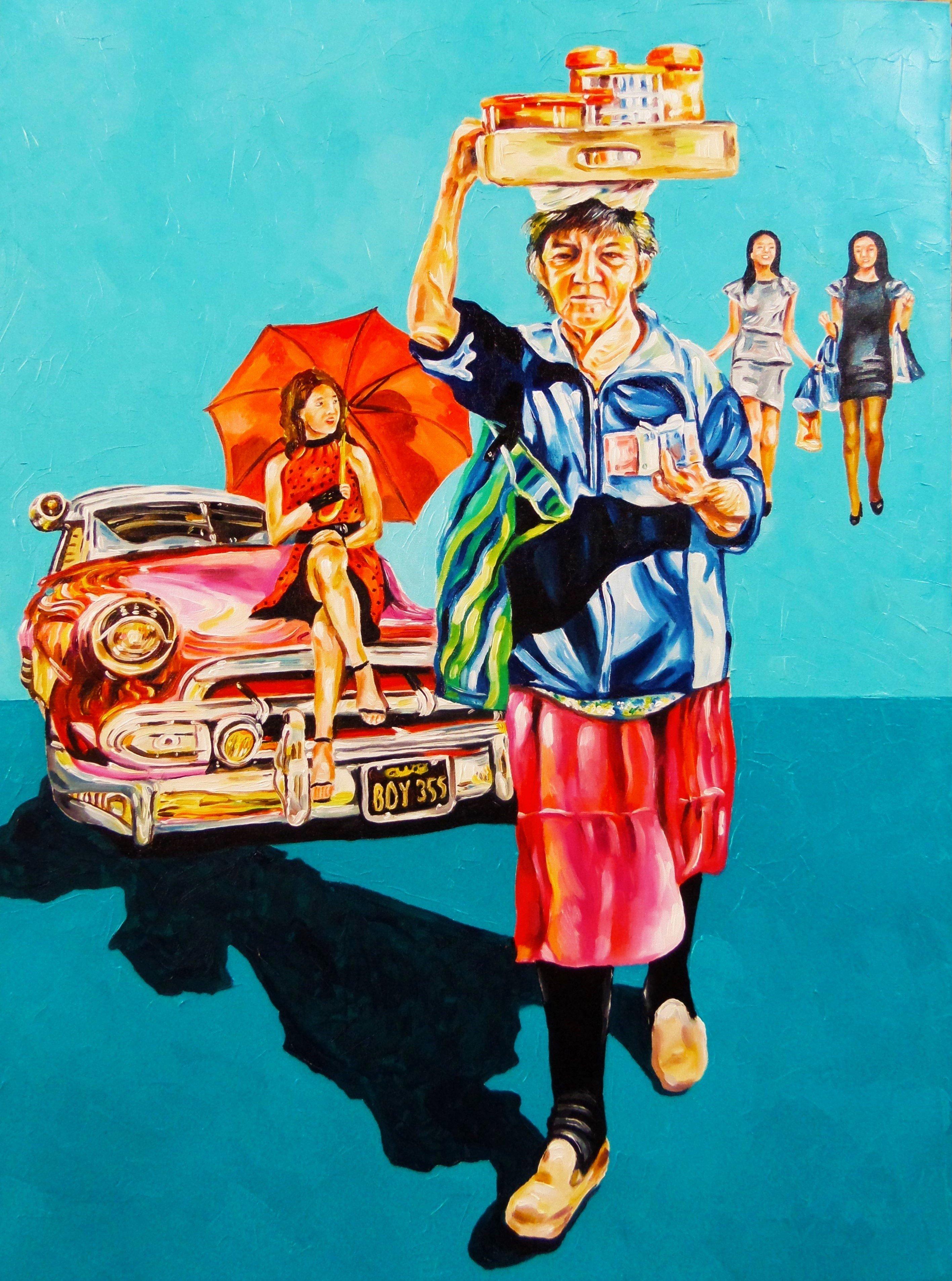 'La Dulcera', obra de la artista paraguaya Carla Ascarza