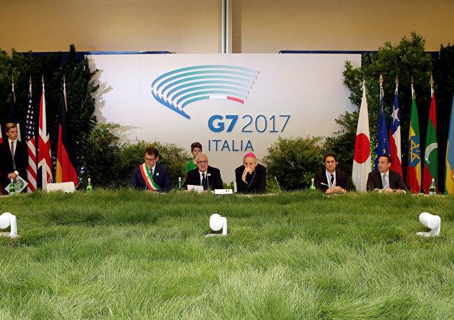 La reunión del G7 en Bolonia