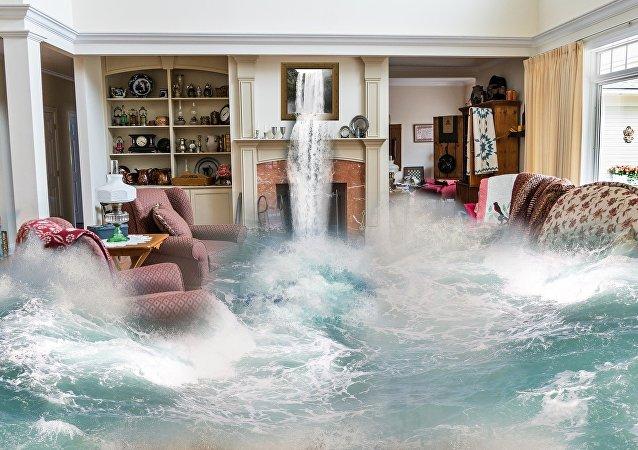 Inundación (ilustración)