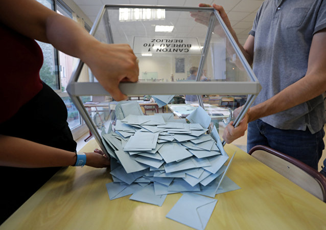 Elecciones parlamentarias en Francia