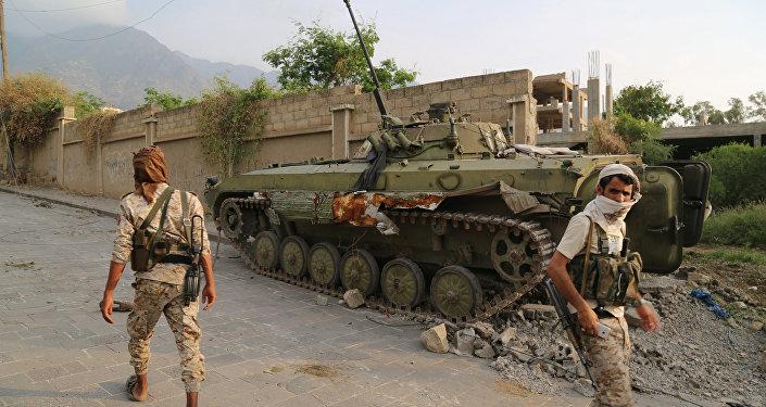 Los militares de Yemen