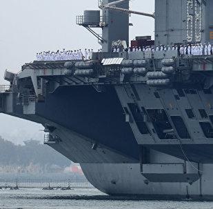 El portaviones estadounidense USS Nimitz
