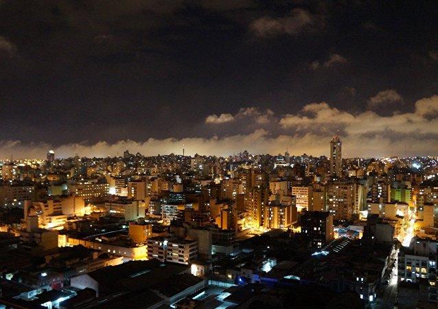 Ciudad de Córdoba de noche