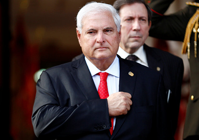 FILE PHOTO: Panama's President Ricardo Martinelli
