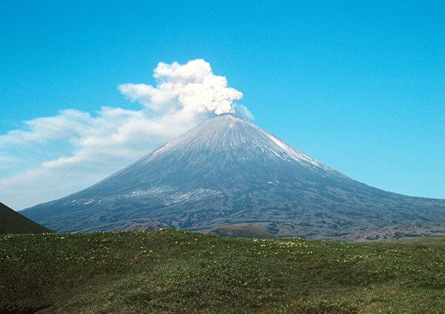Volcán Kliuchevskói