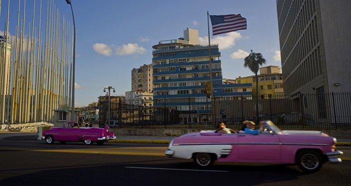 Embajada de EEUU en la Habana, Cuba