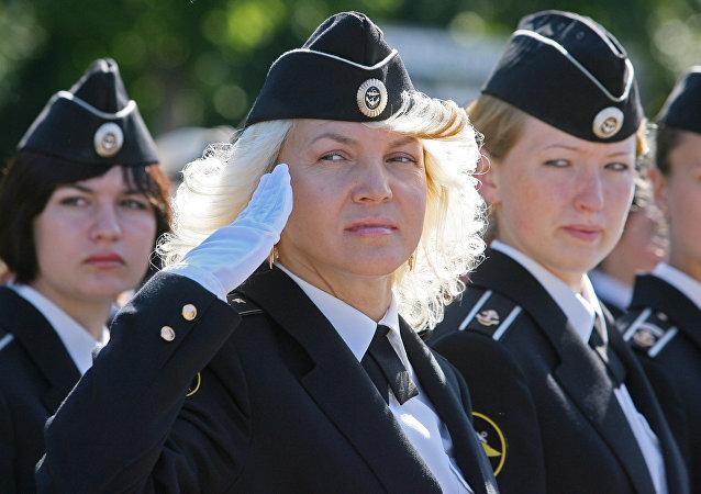 Mujeres militares
