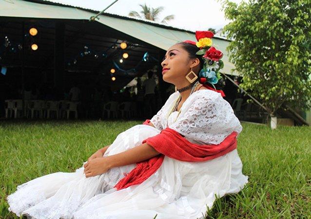 Bailarina mexicana