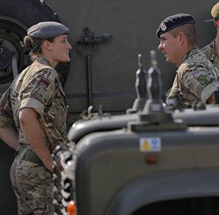 Los militares de la OTAN (archivo)