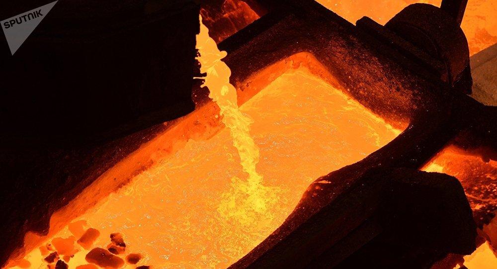 Producción del cobre