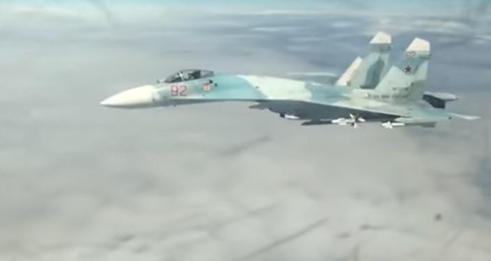 Vídeo: la intercepción de los aviones de EEUU por Rusia, vista desde los ojos del piloto