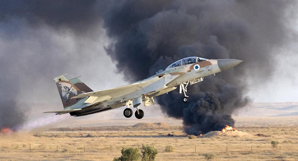 Resultado de imagen para F-15 ISRAELÌ ALCANZADO POR DEFENSA ANTIAÉREA SIRIA