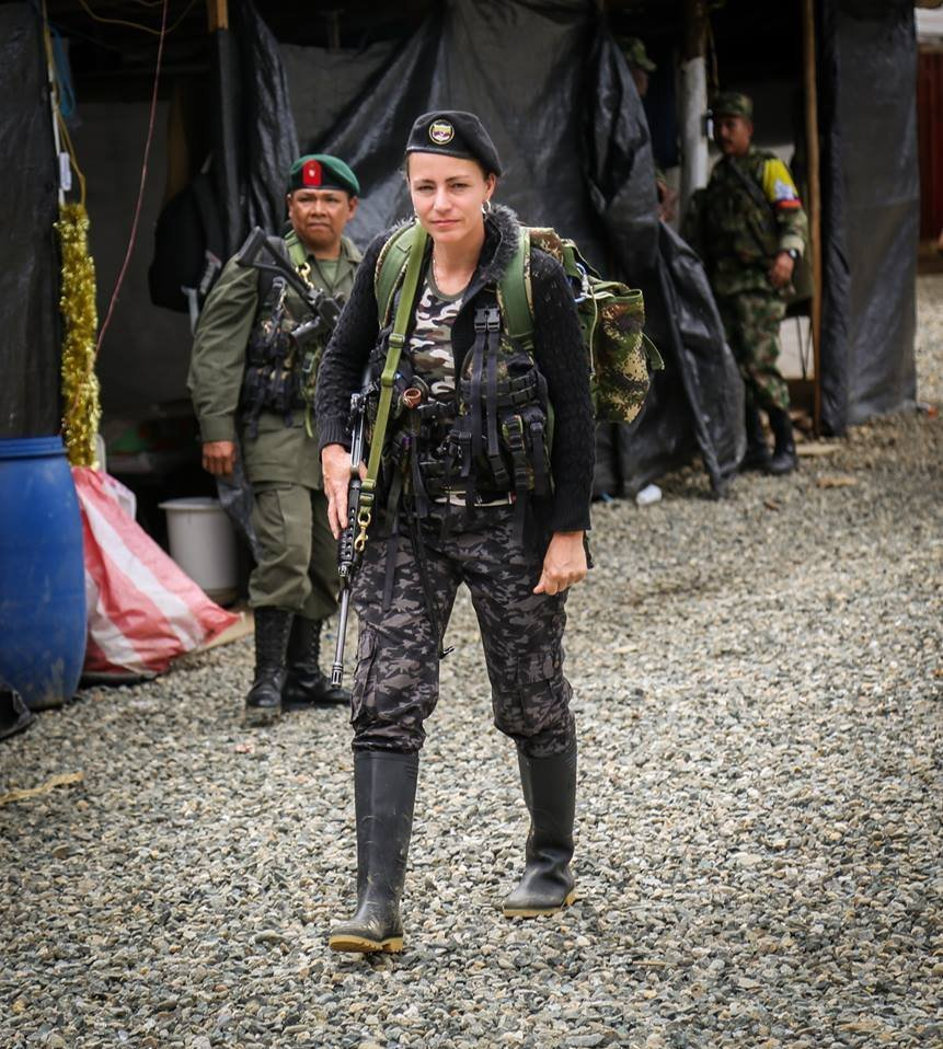 Tanja Nijmeijer alias 'Alexandra Nariño'