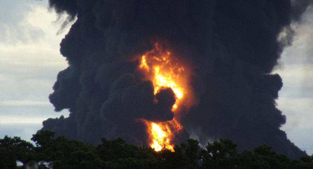 Un incendio (archivo)