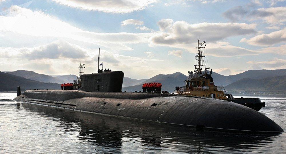 Un submarino atómico ruso (imagen referencial)