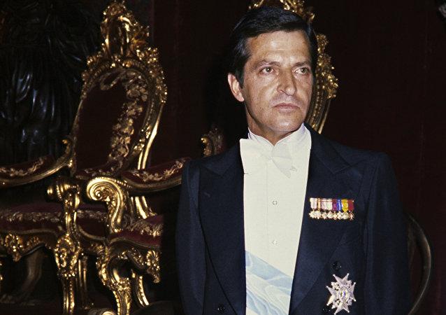 Adolfo Suárez, ganador de las primeras elecciones democráticas españolas (archivo)