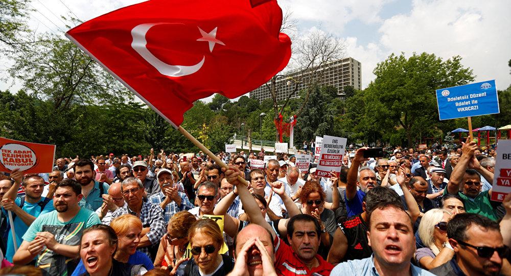 Resultado de imagen para protestas en turquia