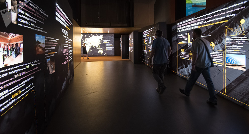 Pavellón español en la Expo 2017 de Astacá