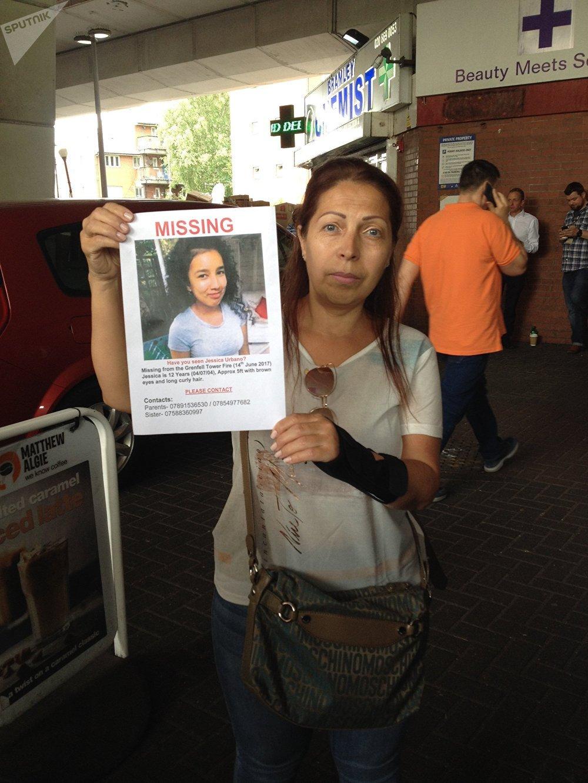Gabi Ortega, amiga de la familia de la niña colombiana desaparecida