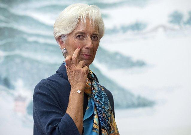 Christine Lagarde, directora del Fondo Monetario Internacional (archivo)